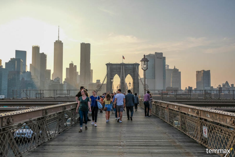 เที่ยว Brooklyn Bridge